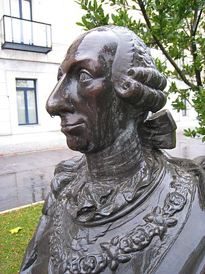 Charles III University of Madrid - Bust of King Charles III of Spain, Universidad Carlos III