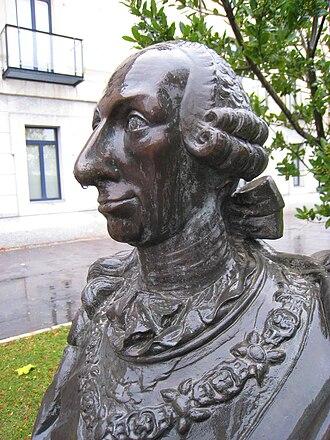 Charles III University of Madrid - Bust of King Charles III of Spain, Universidad Carlos III