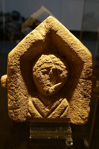 Acy-Romance - A bust found in Acy-Romance (Ardenne Museum)