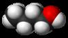 Spacefill-modelo de n-butanolo