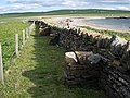 Buttressed wall at Marwick - geograph.org.uk - 180985.jpg