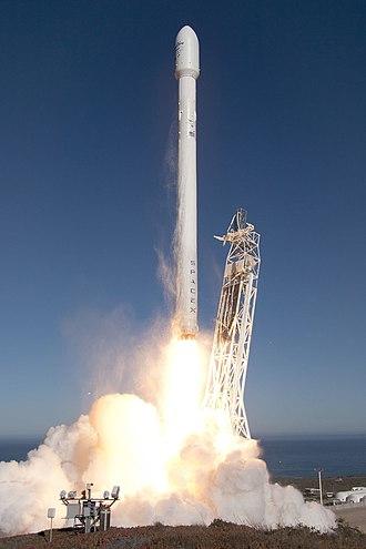 CASSIOPE - CASSIOPE launches on a Falcon 9 v1.1