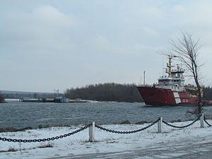 CCGS Samuel Risley patrols the St Mary's River.jpg