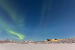 Climate Impacts Research Centre - Northern lights at CIRC