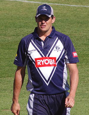 Clint McKay - McKay playing for Victoria in 2011