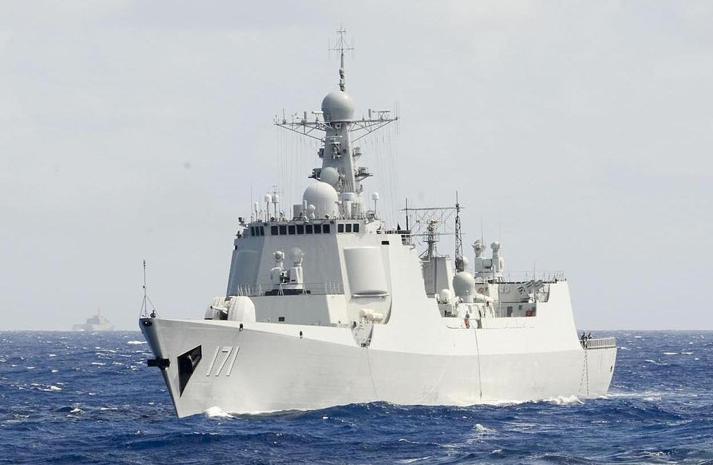 Type 052C destroyer (Luyang II-class).JPG