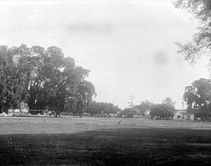 Tuban - The alun-alun or town square of Tuban in 1929