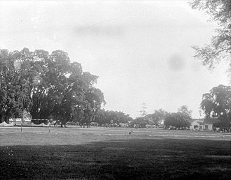 Tuban - The alun-alun or town square of Tuban in 1929