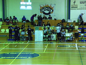Canberra Roller Derby League - Zebra Team and NSOs (Non-Skating Officials)