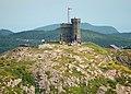 Cabot Tower on Signal Hill (NHSC chart).jpg