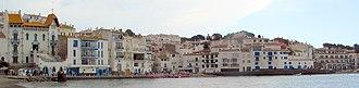 Cadaqués - The Cadaqués shoreline