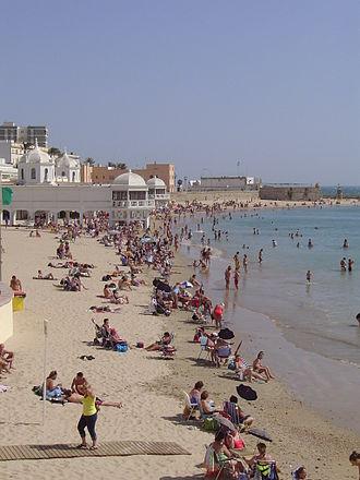 Costa de la Luz - La Caleta beach, Cádiz