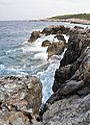 Cala Tramontana from Punta del Vuccolo - San Domino Island, Tremiti, Foggia, Italy - August, 2013 04.jpg