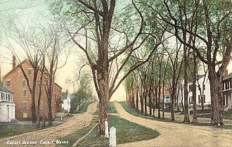 Calais, Maine - Image: Calais Avenue, Calais, ME