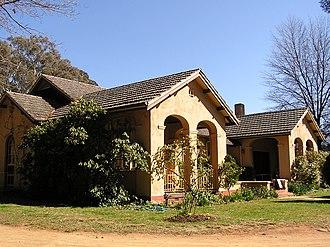 National Capital Authority - Image: Calthorpes House
