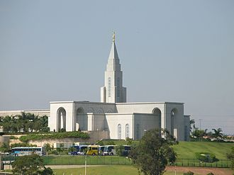 Campinas - Campinas Brazil Temple of The Church of Jesus Christ of Latter-day Saints located in the city.