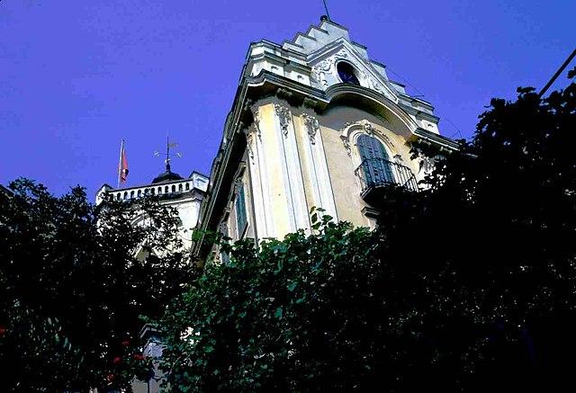 Casa Camuzzi, балкон художника Клингзора.