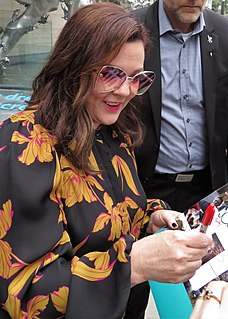 Melissa McCarthy American actress and comedian