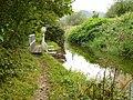 Canal feeder overflow footbridge - geograph.org.uk - 574824.jpg