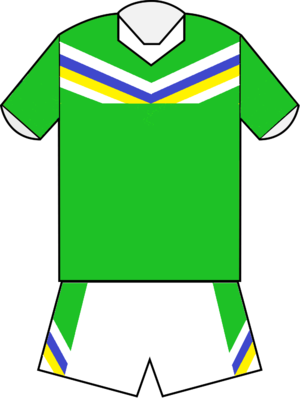 2012 NRL season - Image: Canberra Raiders home jersey 2012