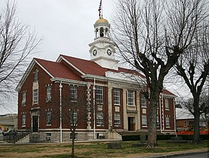 Cannon County, Tennessee - Image: Cannon county courthouse 9749