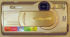 Canon PowerShot A310, front.jpg