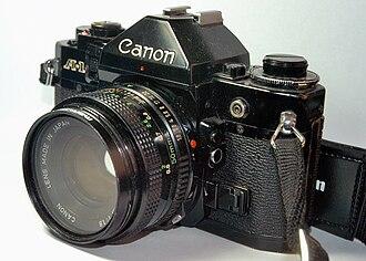 Canon A-1 - Canon A1 detail
