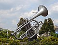 Capelle kunstwerk trompet.jpg