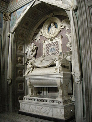 Bernardo Rossellino - Rossellino's tomb of the Cardinal of Portugal, Florence.