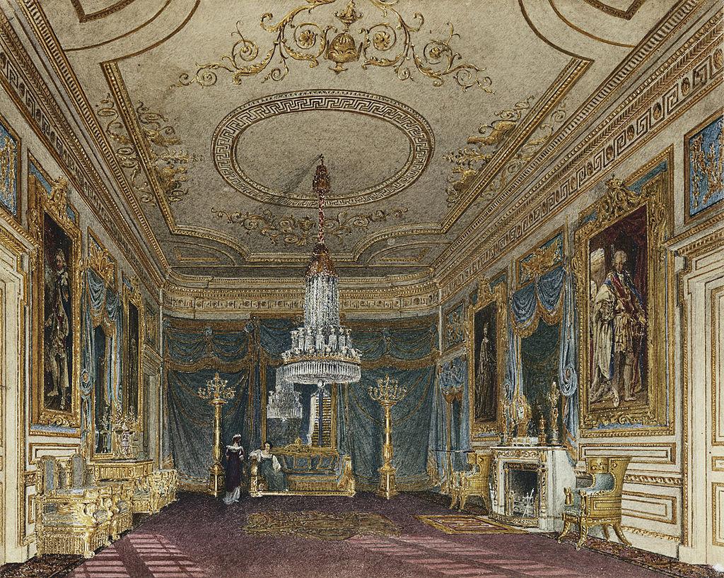 Карлтон-Хаус, Передняя палата, Чарльз Уайльд, 1816 - royal coll 922179 313732 ORI 1 0.jpg