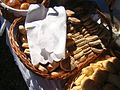 Carpathian Bazaar of Tastes, soda breads, Sanok 2010 04.JPG