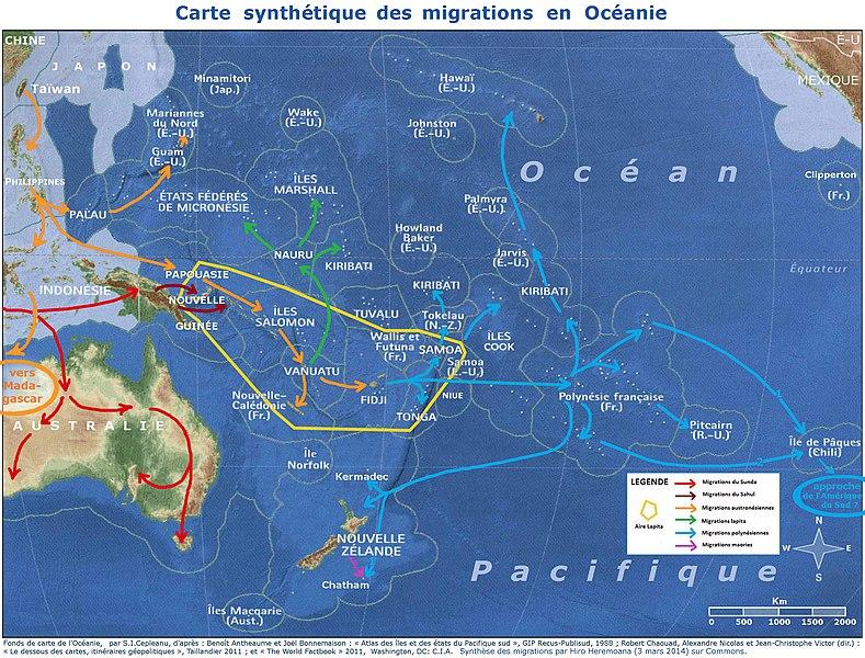 File:Carte synthétiques des migrations en Océanie.jpg