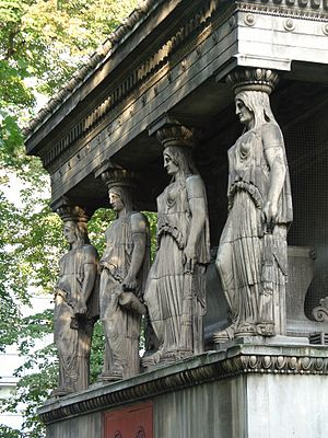John Charles Felix Rossi - Caryatids, St Pancras New Church, London