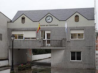 Láncara - Image: Casa concello Lancara 18