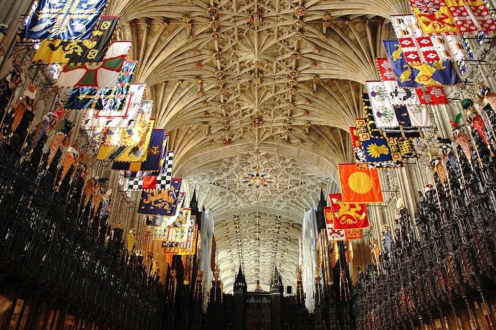 Castell de Windsor - Capella de Sant Jordi