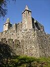 Castelo de Santa Maria da Feira ao nascer do Sol 1.JPG