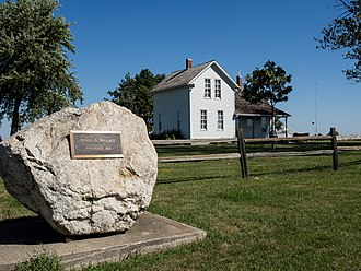 National Register of Historic Places listings in Adair County, Iowa - Image: Catalpa Adair County IA