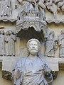 Cathédrale ND de Reims - portail du Jugement Dernier (14).JPG
