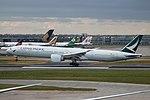 Cathay Pacific B777-367ER (B-KPM) at London Gatwick Airport.jpg