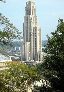 Upper campus residence halls (University of Pittsburgh)