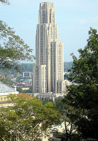 Schenley Farms Historic District - Image: Cathedral from Upper