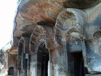 West Godavari district - Caves on Dhammalingesvarasvami Hill at Guntupalle