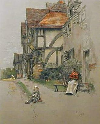 Cecil Aldin - Chiddingstone