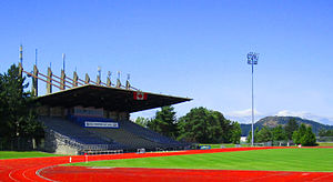 Athletics at the 1994 Commonwealth Games - Image: Centennial Stadium Victoria