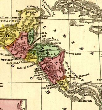 Federation - The United Provinces of Central America was a short-lived federal republic