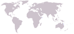 Tropical bottlenose whale range