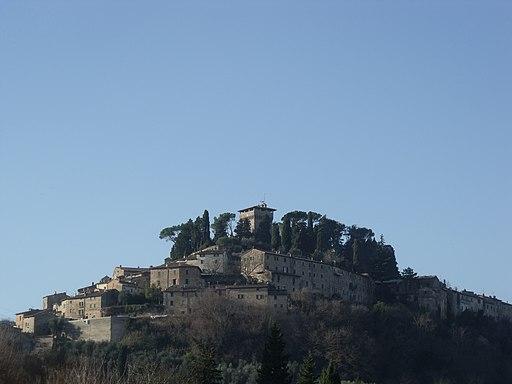 Cetona, panorama