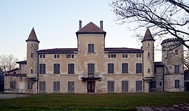 The Chateau Chiloup in Dagneux