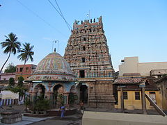 A Vishnu temple located in Kumbakonam town