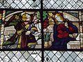 Champeaux (77) Collégiale Saint-Martin Vitrail Annonciation.jpg